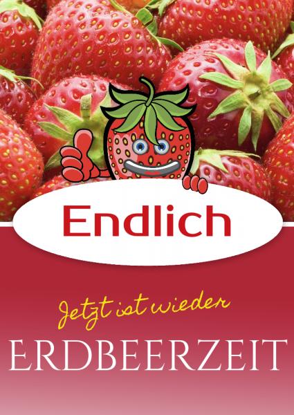 Erdbeerposter   Erdbeerplakat   Erdbeeren Poster   Erdbeeren Plakat   Online günstig bestellen   Selbst gestalten   günstig drucken  