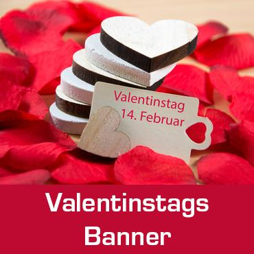 valentinstags banner banner zum valentinstag online selbst gestalten. Black Bedroom Furniture Sets. Home Design Ideas