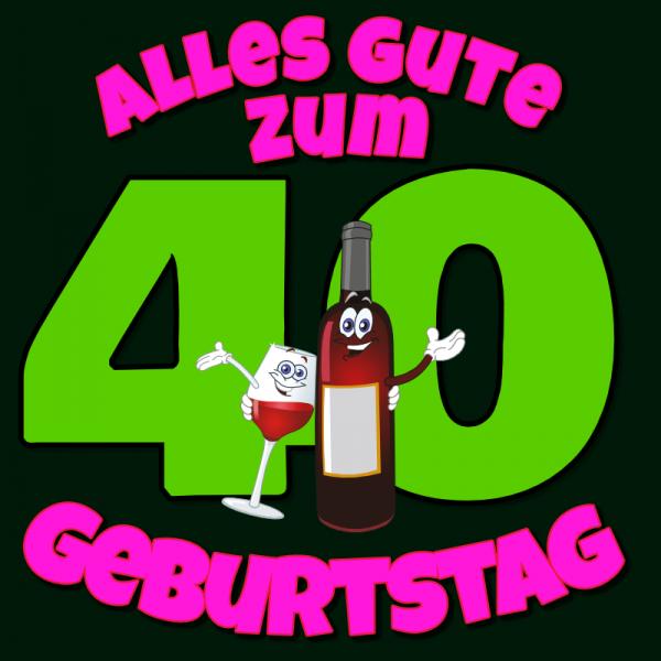 40. Geburtstag   Geburtstagsbanner   Banner zum Geburtstag