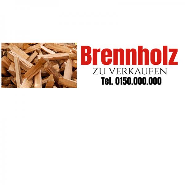Kaminholzverkauf | Brennholzverkauf | Brennholzbanner | Werbung für Brennholzverkauf |