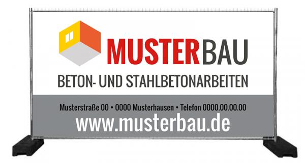 Banner für Bauzaun | Bauzaunbanner | Bauzaunwerbung | Zaunbanner | Zaunwerbung | Bauzaun-Werbung | Bauzaun-Banner