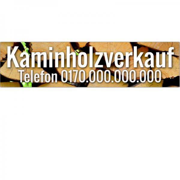 Spannband für Holzverkauf | Spannbanner Brennholzverkauf | Brennholz | Holzverkauf