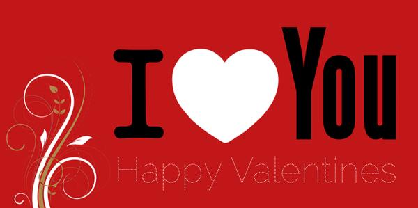 Valentinstag | Valentinstagsbanner | Werbebanner | Banner | Werbeplane | Valentin | 14. Februar | PVC-Banner | Werbebanner