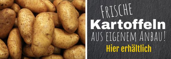 Druckvorlage   Kostenlos   Banner online gestalten   Werbebanner   Kartoffelbanner  