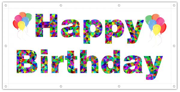 Geburtstagsposter | Geburstagsplakat | XXL Geburtstagsposter | Geburtstagsbanner | Banner zum Geburtstag