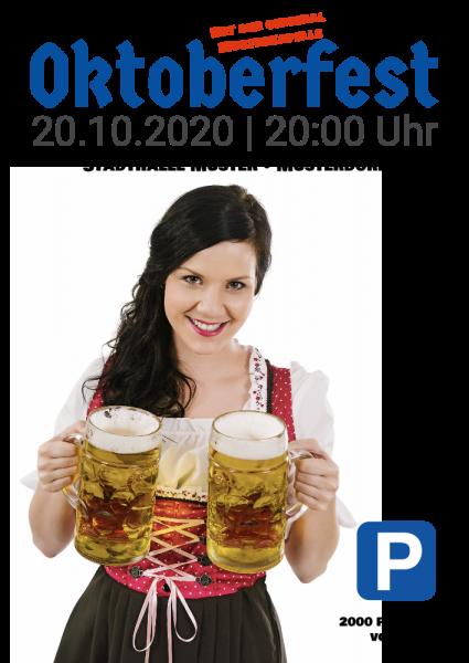 Werbebanner | Oktoberfestplakat | Online selbst gestalten | Oktoberfest | Bierfest | Bier-fest | Festplakat | Plakate | Günstige Poster |