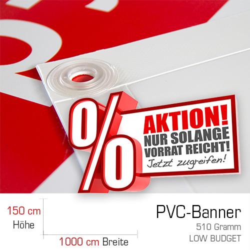 PVC-Banner | PVC-Plane | Werbebanner | Werbeplane | Online selbst gestalten | Banner | Bannerplane |